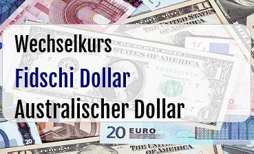 Fidschi Dollar in Australischer Dollar