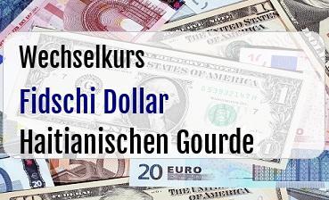 Fidschi Dollar in Haitianischen Gourde