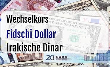 Fidschi Dollar in Irakische Dinar