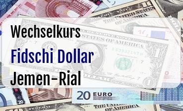 Fidschi Dollar in Jemen-Rial