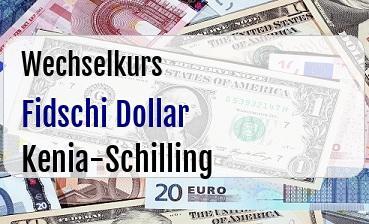 Fidschi Dollar in Kenia-Schilling