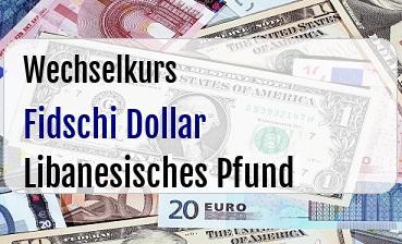 Fidschi Dollar in Libanesisches Pfund