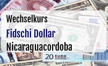 Fidschi Dollar in Nicaraguacordoba