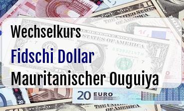 Fidschi Dollar in Mauritanischer Ouguiya