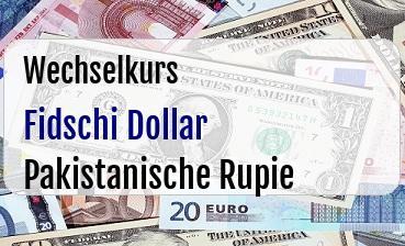 Fidschi Dollar in Pakistanische Rupie