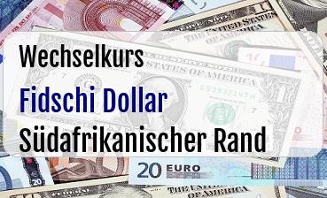 Fidschi Dollar in Südafrikanischer Rand