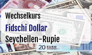 Fidschi Dollar in Seychellen-Rupie