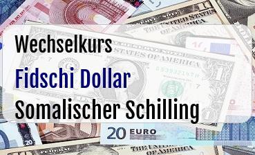 Fidschi Dollar in Somalischer Schilling