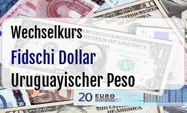 Fidschi Dollar in Uruguayischer Peso