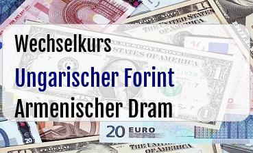 Ungarischer Forint in Armenischer Dram