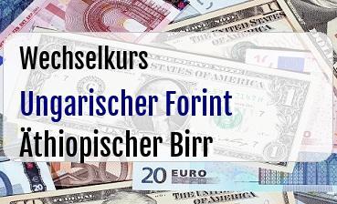 Ungarischer Forint in Äthiopischer Birr