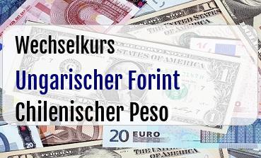 Ungarischer Forint in Chilenischer Peso