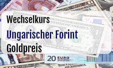 Ungarischer Forint in Goldpreis