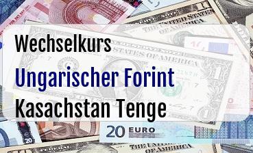 Ungarischer Forint in Kasachstan Tenge