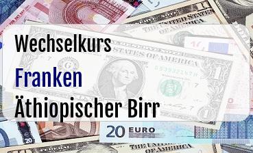 Schweizer Franken in Äthiopischer Birr