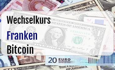 Schweizer Franken in Bitcoin