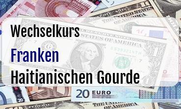 Schweizer Franken in Haitianischen Gourde