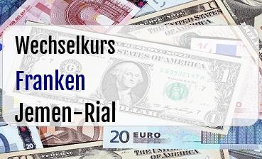 Schweizer Franken in Jemen-Rial