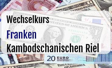 Schweizer Franken in Kambodschanischen Riel