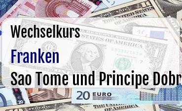 Schweizer Franken in Sao Tome und Principe Dobra