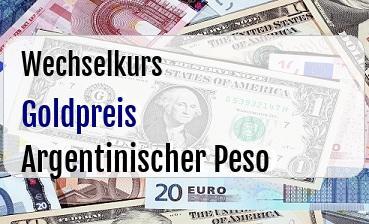 Goldpreis in Argentinischer Peso