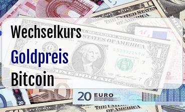 Goldpreis in Bitcoin