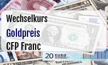 Goldpreis in CFP Franc