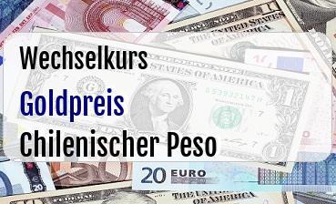 Goldpreis in Chilenischer Peso