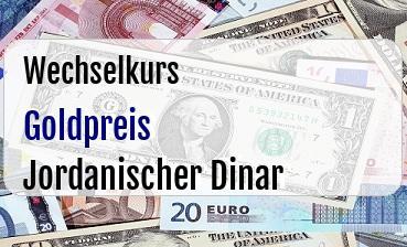 Goldpreis in Jordanischer Dinar