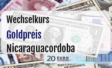 Goldpreis in Nicaraguacordoba