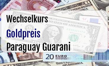 Goldpreis in Paraguay Guarani