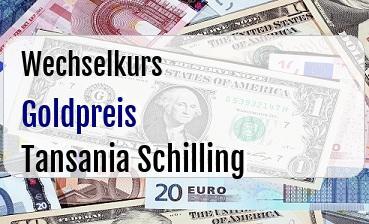 Goldpreis in Tansania Schilling