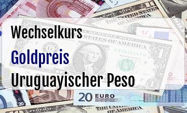 Goldpreis in Uruguayischer Peso
