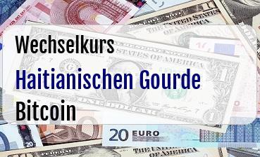 Haitianischen Gourde in Bitcoin