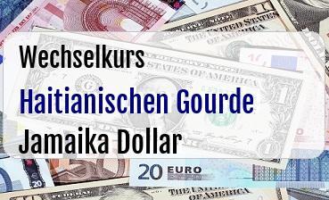 Haitianischen Gourde in Jamaika Dollar