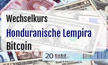 Honduranische Lempira in Bitcoin