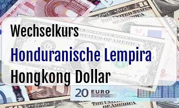 Honduranische Lempira in Hongkong Dollar