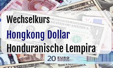 Hongkong Dollar in Honduranische Lempira