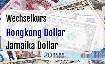 Hongkong Dollar in Jamaika Dollar