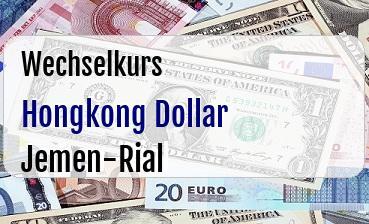 Hongkong Dollar in Jemen-Rial