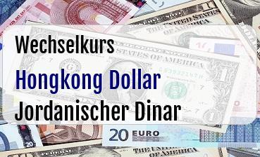 Hongkong Dollar in Jordanischer Dinar
