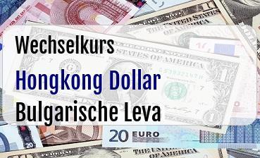 Hongkong Dollar in Bulgarische Leva
