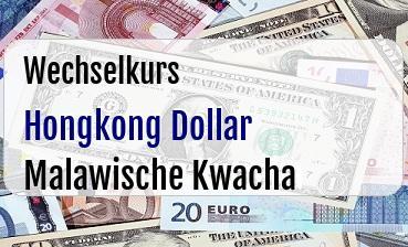 Hongkong Dollar in Malawische Kwacha
