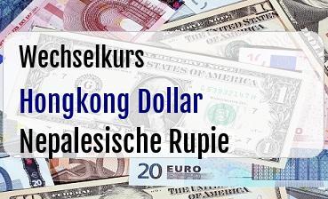 Hongkong Dollar in Nepalesische Rupie