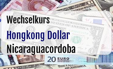 Hongkong Dollar in Nicaraguacordoba