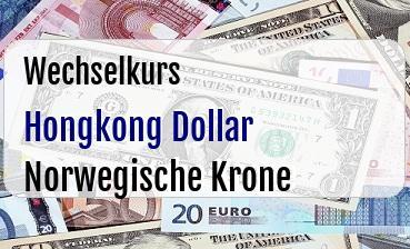 Hongkong Dollar in Norwegische Krone