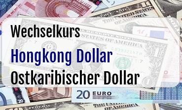 Hongkong Dollar in Ostkaribischer Dollar