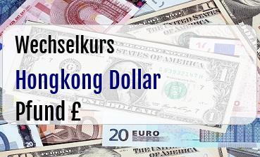 Hongkong Dollar in Britische Pfund