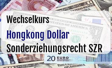 Hongkong Dollar in Sonderziehungsrecht SZR