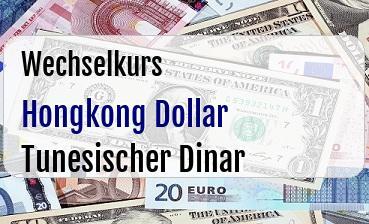 Hongkong Dollar in Tunesischer Dinar